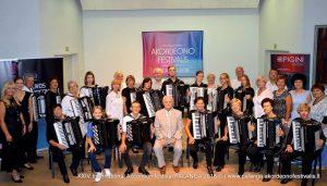 Akordeonistų festivalio dalyviai