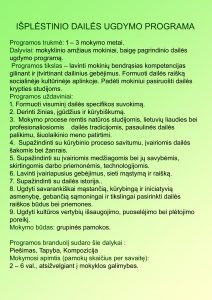 UGDYMO PR. daile 10
